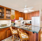 Fully equipped and remodeled kitchen