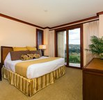 The Master Bedroom has its Own Private Lanai