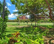 A View of Disney's Aulani from Across the Golf Course