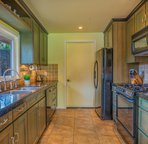 Large kitchen for cooking for the entire family.