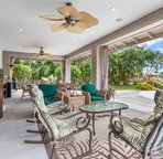 Spacious lanai perfect for outdoor living