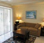 Comfortable Living Area with Sofa Sleeper