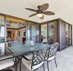 Spacious Lanai with Dining and BBQ
