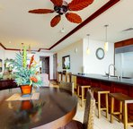 Kitchen and Dining Area are both Open to the Lanai