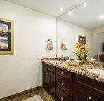 Bathroom 2 with Double Sinks