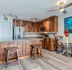 Remodeled and fully equipped kitchen