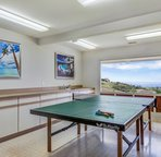 Ping Pong Game Room with Great Ocean Views