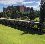 The Tourist Train that Passes through Ko Olina a Couple Times a Week