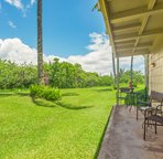 Relax on the lanai and watch the Nene (Hawaiian geese) roam the lawn.