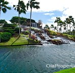 Waterfall at Ko Olina Entrance