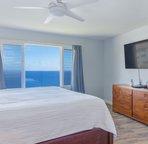 Master bedroom with sweeping ocean views!