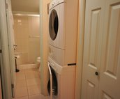 In Unit Large Washer/Dryer