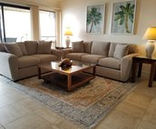 Living Area include a sofa sleeper