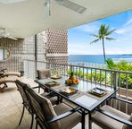 Spacious Lanai with Dining Area and Lounge Area