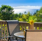 Lanai dining with gorgeous uninterrupted views!