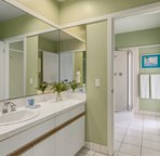 4th bedroom Bathroom Suite with access to pool Lanai