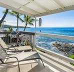Relax on your ocean front lanai