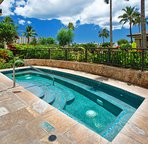 One of Three Hot Tubs at the Beach Villas