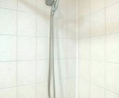 Shower with detachable handle