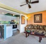 Living Area/Kitchen...