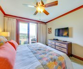 Bright and Cheery Master Bedroom with Custom Bedding