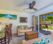 Open floor plan with Lanai and easy access to the pool!