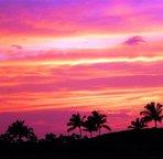 Beautiful sunset from the lanai!