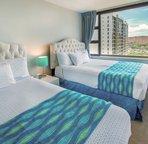 Bedroom with views of Diamond Head