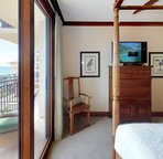 Enjoy the Beautiful Pacific Blue from your  Master Bedroom Lanai