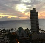 19th floor - 1 bedroom condo.      Take in stunning sunsets from your own private lanai (balcony)
