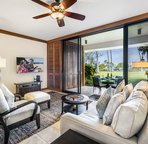 Living area with easy access to lanai