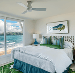 Oceanfront suite.
