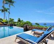 Lounge Poolside with Great Ocean Views..