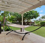 Spacious Lanai include BBQ