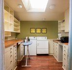 The laundry/utility room is available for your use.