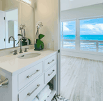 Ocean views from your bathroom!