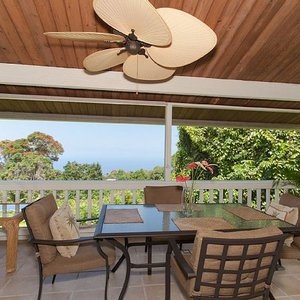 Screened Lanai that Wraps Around the Kitchen with Great Views