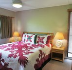 Master Bedroom with King Bed;