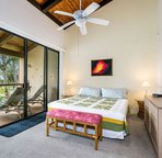Master Bedroom offer King Bed/Lanai Access