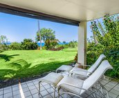 Space to relax and enjoy the golf course and ocean views