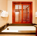 Master Bathroom with a Large Soaking Tub and Separate Walk-in Shower
