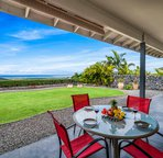 Spacious lanai with beautiful ocean views