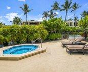 Mauna Lani Terrace pool area/spa