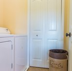 Laundry room to wash off all the red dirt from your Kauai adventures!