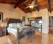 Master Bedroom with King Bed..