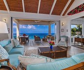 Sweeping ocean views from the living area!