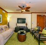 Designer Furnished Living Area