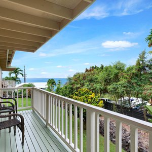Lanai off Master with Ocean Views