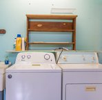 Washer and dryer available for your use