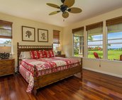 Master Bedroom includes a Cal King Bed